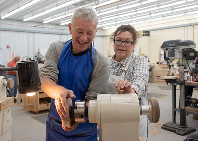 Woodturning with Jimmy Clewes Fall