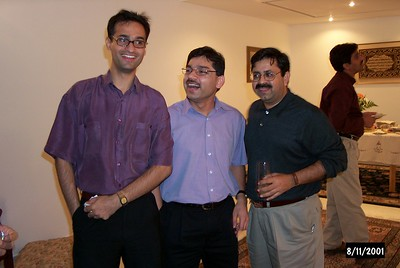 Party at Ali Kidwai's Place-Nov2002