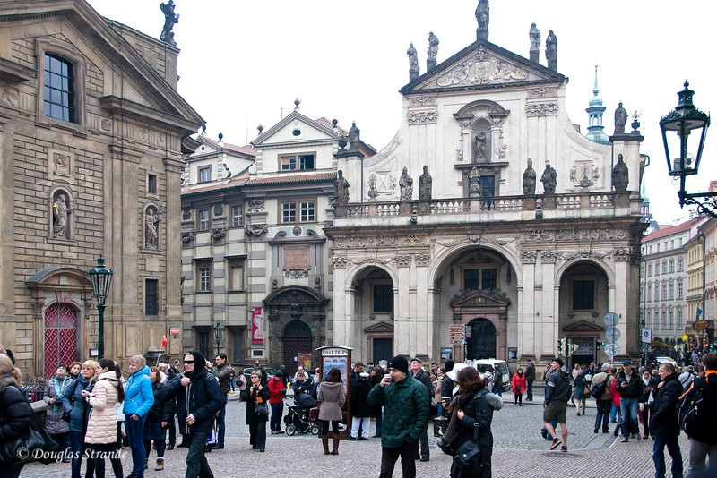 Prague Square near Charles Bridge