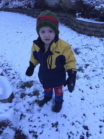 Shawn Thomas - First Snowman December 2015