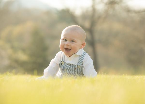 Liam 6 month