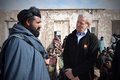 Press album: Jan Egeland in Afghanistan