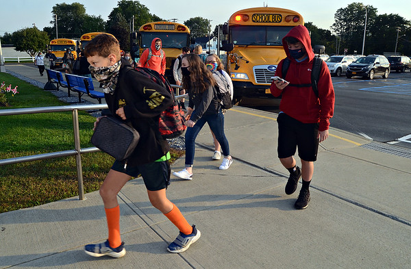 Hoosick Falls Central School reopens 090820