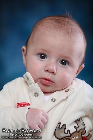 Braxton 3 month baby photos