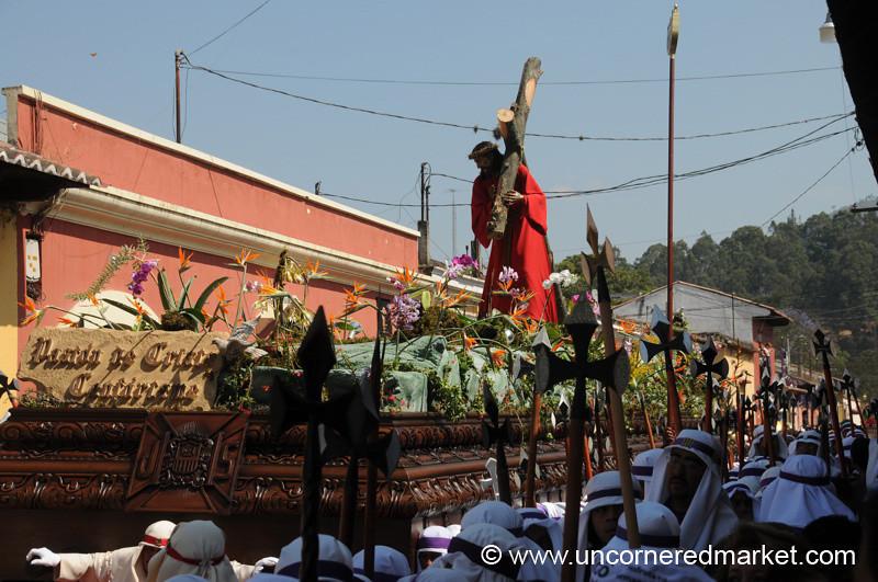 Men's Float, Semana Santa - Antigua, Guatemala