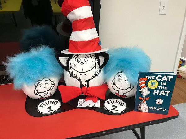 LD Library Pumpkin Decorating Contest 2017