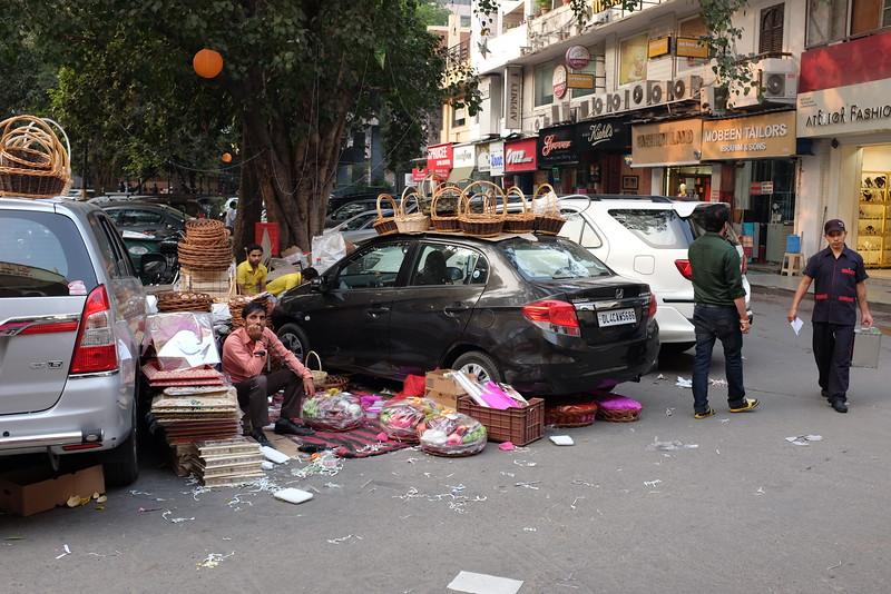 The Basket Vendor