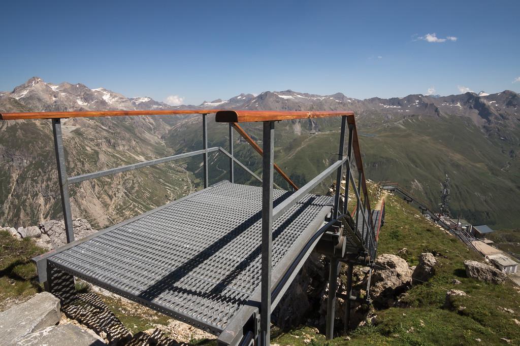 Escaleras de Bellevarde Val d'Isère