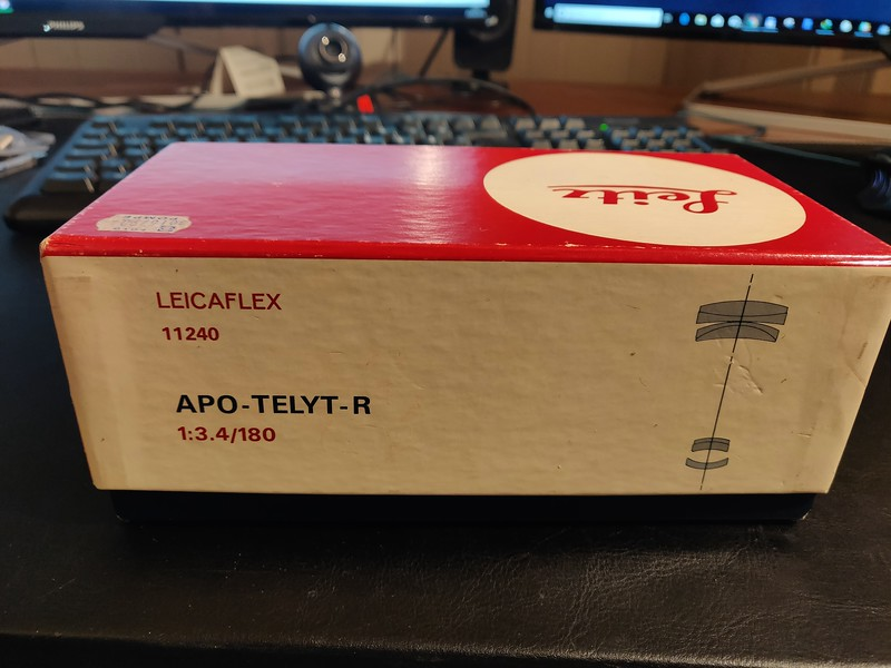 Leica R 180mm 3.4 APO-Telyt-R Boxed - Serial 2867222 001.jpg