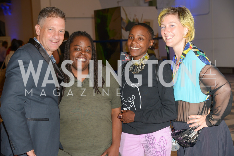 Barry Ivan Silber, Angela Byrd, Keyonna Jones, Steph Compton, By The People, Arts Festival, Smithsonian Arts and Industries Building, June 14th, 2019.  Photo by Ben Droz.