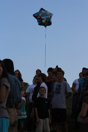 Garrett Williams Balloon Releasing