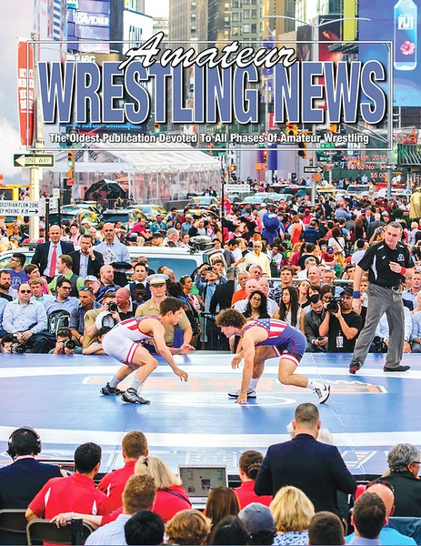 Amateur Wrestling News Cover, June, 2017