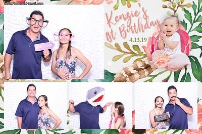 Kenzie's First Birthday