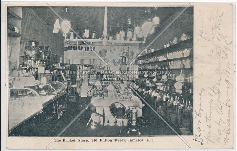 Racket Store, Fulton St (Jamaica Ave)