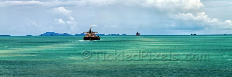 Shipping Channel through Torres Strait
