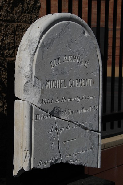 1872, Michel Clement Tombstone