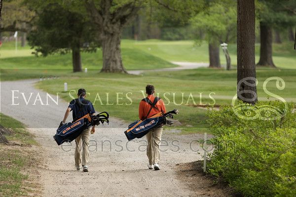 Mustangs Varsity Golf - May 17, 2016