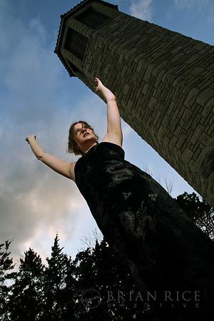 Kristi - Goth Shoot, March 2008