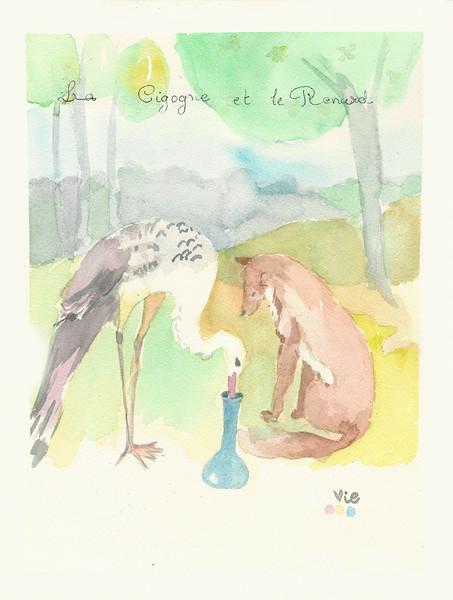 No.124 La cigogne et le renard.jpg