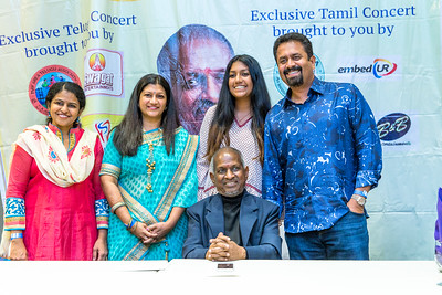 Padma Bhushan Maestro Ilaiyaraaja & K.S. Chitra - Meet & Greet 2016 Bay Area (No Watermark)