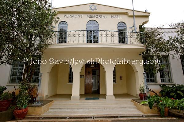 KENYA, Nairobi. Vermont Memorial Hall (at Nairobi Synagogue) (8.2013)