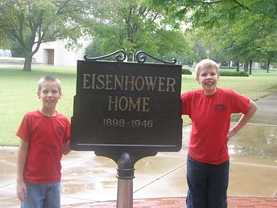 Eisenhower Museum, Abilene KS, Oct. 6 2008