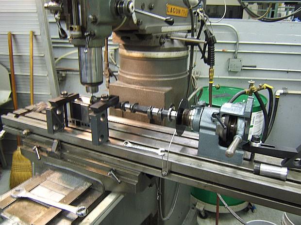 VQ35 cam trigger machining