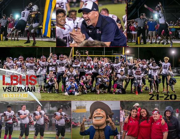 LBHS Varsity vs Lyman - Oct 13, 2017
