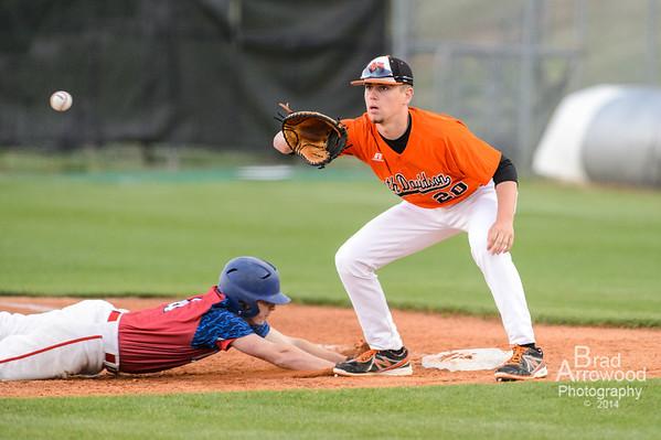 NDHS JV and Varsity Baseball vs Parkland