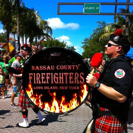 2012 • St. Patrick's Day event, Delray Beach Atlantic Avenue - 44th Annual event, March 17, 2012 2pm