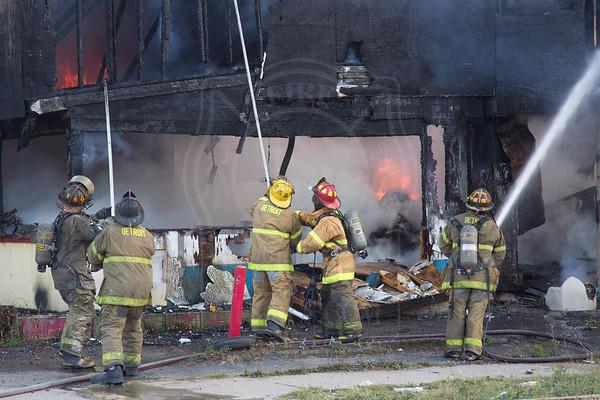 Detroit, MI - August 17, 2013 - Box Alarm - McNichols Rd. E. & Caldwell St.