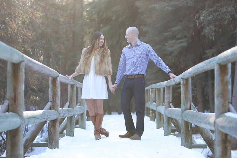 Brittani & Brandon - Engagement