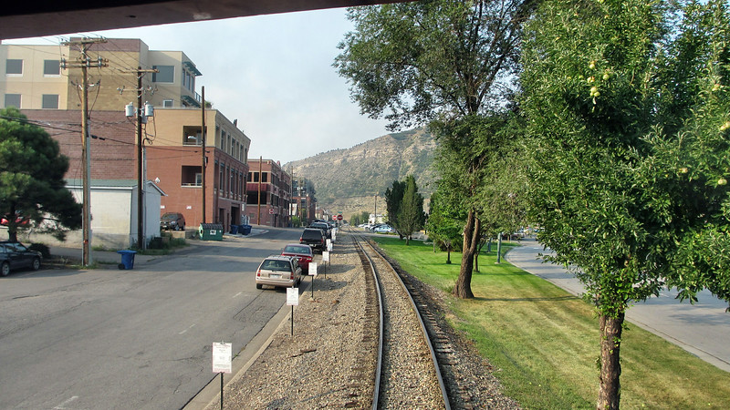 Riding the Durango & Silverton Narrow Gauge Railroad round trip Durango to Silverton