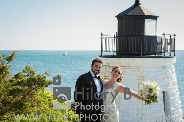 Ashley & Nick Rutigliano, Castle Hill Inn Newport RI
