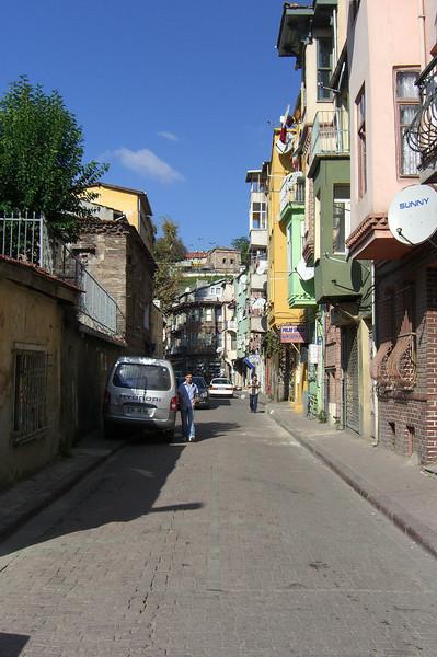 16-A street in Balat, the former Jewish Quarter.