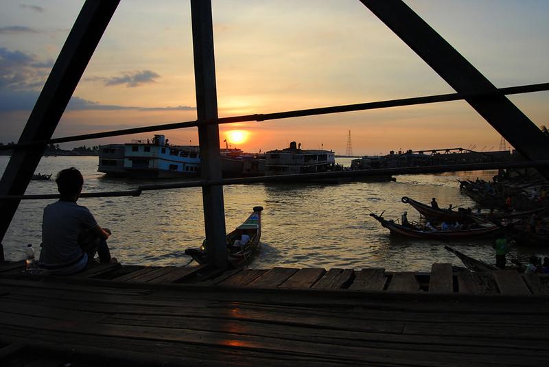 Yangon River at Sunset Myanmar (5).jpg