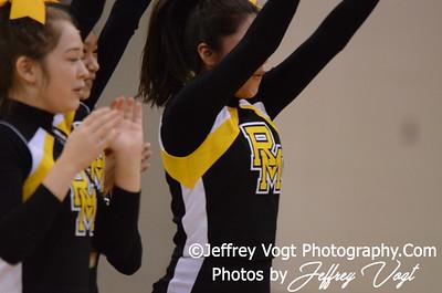 12-13-2012 Richard Montgomery HS Varsity Cheerleading, Photos by Jeffrey Vogt Photography