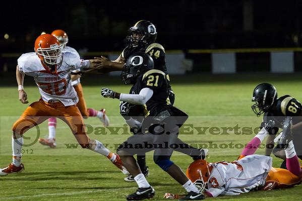 Boone JV Football #13 - 2012