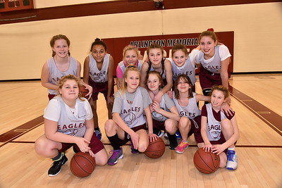 Meet The AMHS Girls M.S. Basketball Team photos by Gary Baker