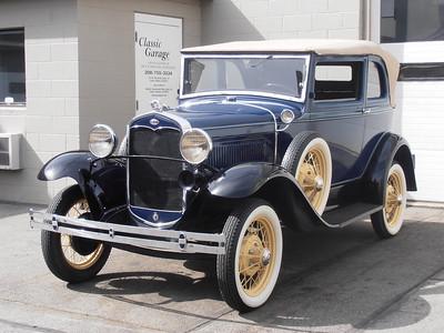 1931 Model A - Preservation & Maintenance Work