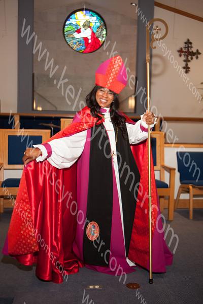Bishop Irene Harris concegration 12-7-13