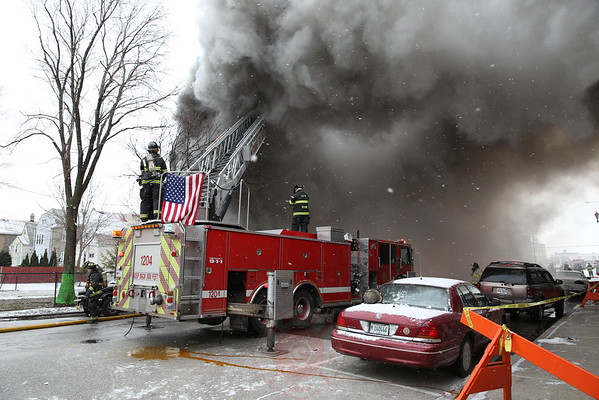 Cicero Box Alarm 14th Street and 51 Court January 2016