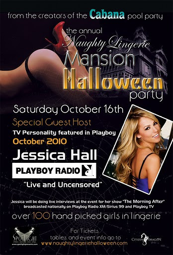 The Annual NAUGHTY LINGERIE MANSION HALLOWEEN PARTY 10.16.10