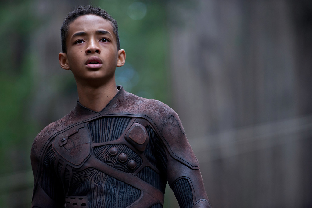 """. Jaden Smith stars in sci-fi adventure \""""After Earth\"""" alongside father Will Smith. Provided by Columbia Pictures."""