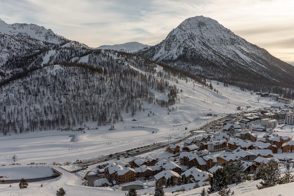 Atardecer en Montgenèvre Alpes del Sur