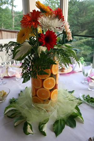 Bridesmaid Dinner and Manshower