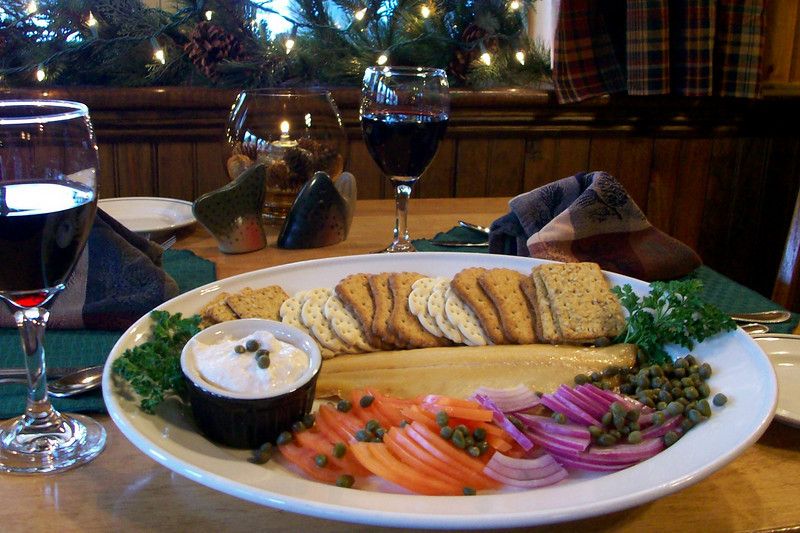 The ever popular Smoked Rainbow Trout appetizer.