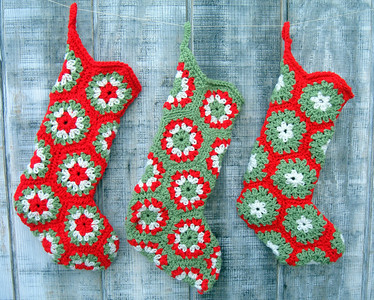 Crochet Works-stockings