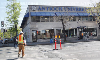 Pictured is the current location of Antioch University at 2326 6th Ave. in Seattle, Washington