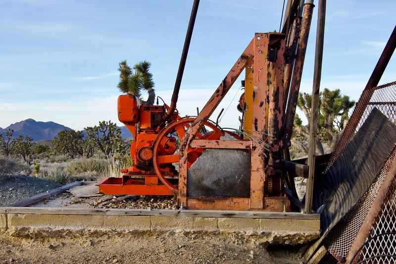 Death Valley mine winch
